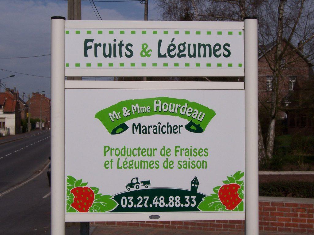 Jean Pierre HOURDEAU Maraicher à Lecelles